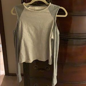 NWOT Rag and Bone cold shoulder sweatshirt